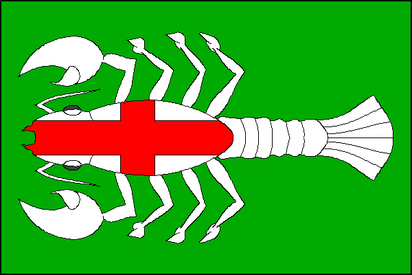 Střeň - vlajka
