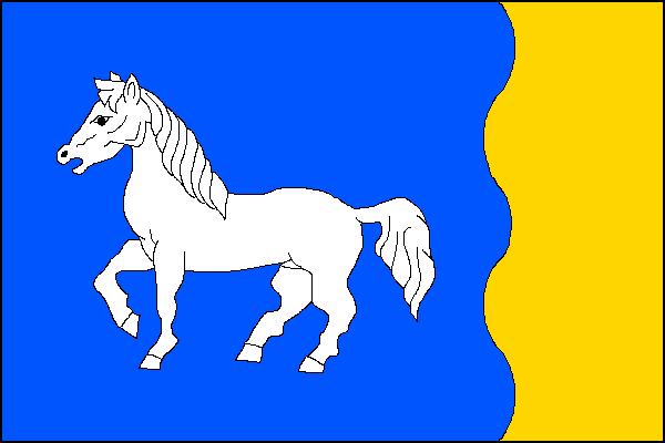 Střítež - vlajka