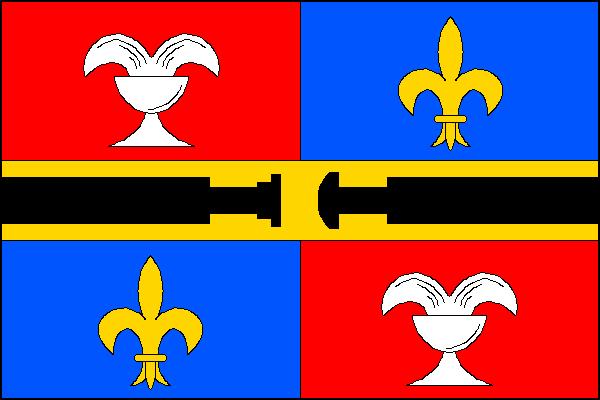 Studénka - vlajka