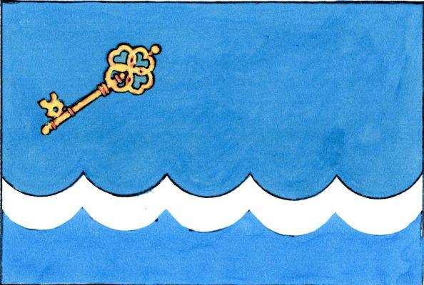 Suchdol nad Lužnicí - vlajka