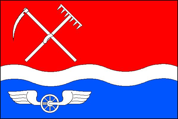 Suchdol nad Odrou - vlajka