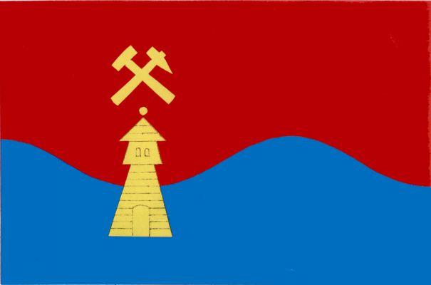 Suchovršice - vlajka