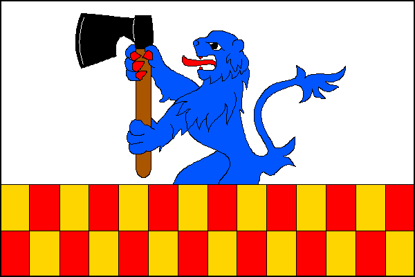 Suchý - vlajka