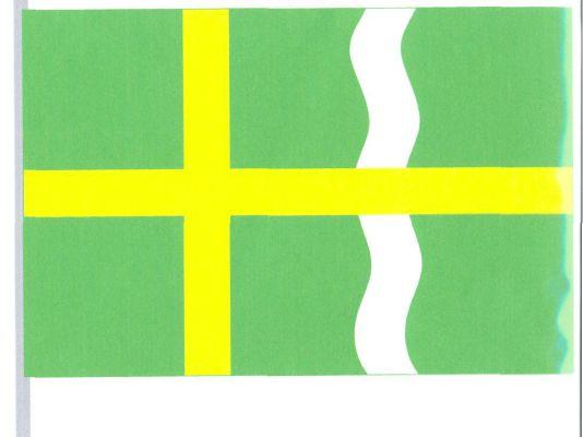 Svatojanský Újezd - vlajka