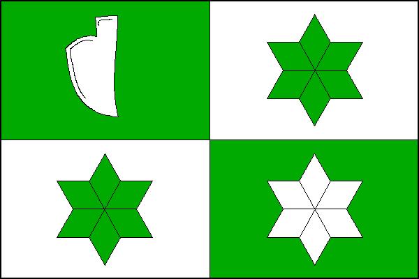Svobodné Heřmanice - vlajka