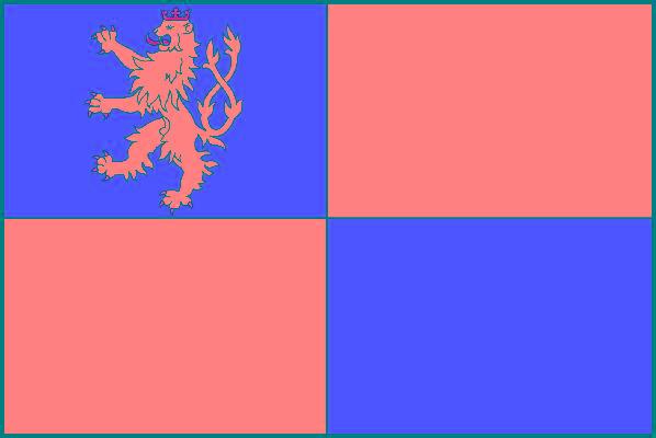 Tachov - vlajka
