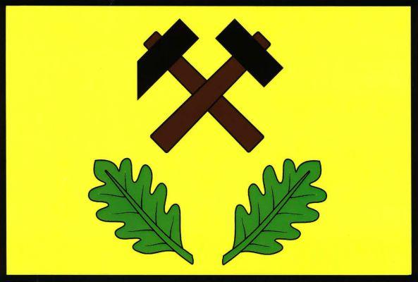 Těně - vlajka
