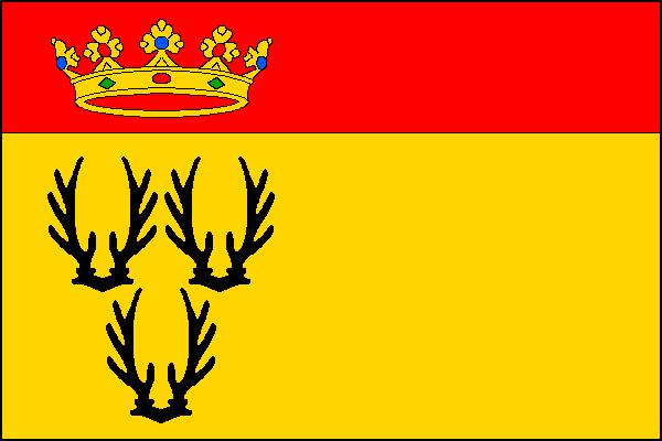 Teplá - vlajka