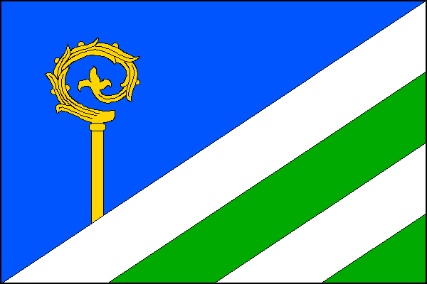 Tichá - vlajka