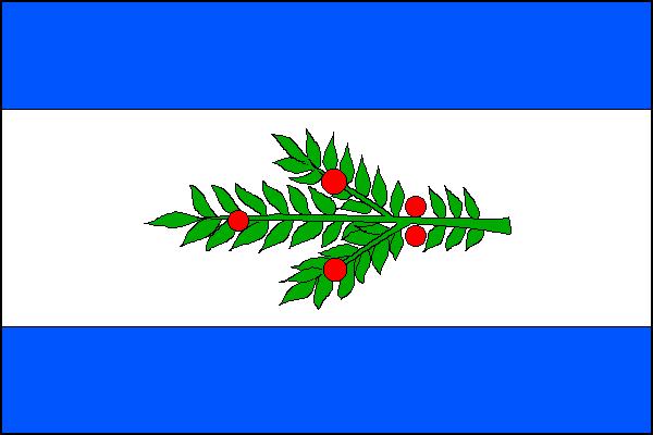 Tisá - vlajka