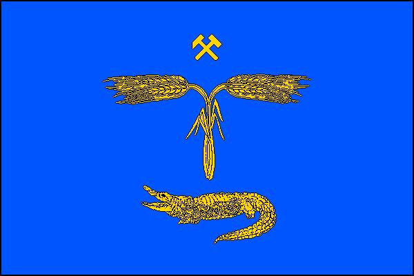 Tlučná - vlajka