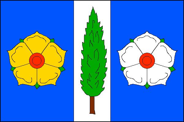 Topolná - vlajka