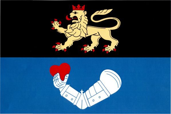 Toužim - vlajka