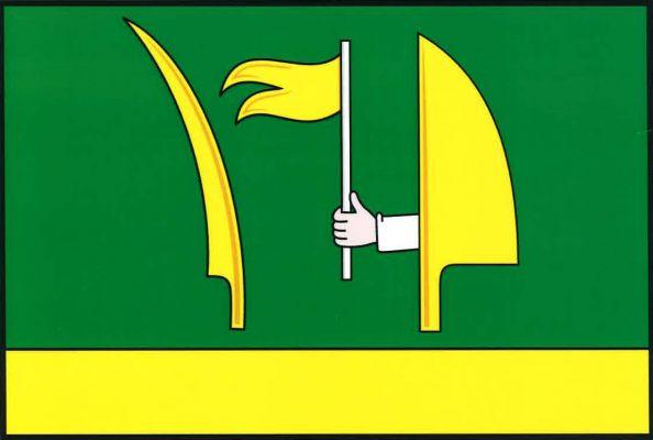 Tovéř - vlajka