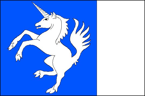 Třešť - vlajka