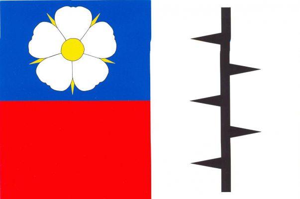 Trnová - vlajka