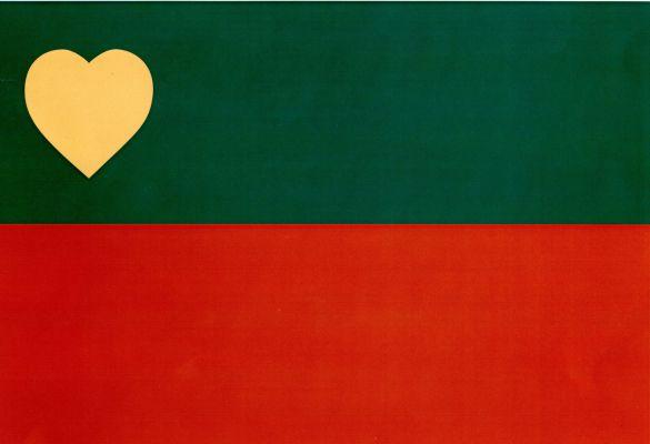 Trojanovice - vlajka