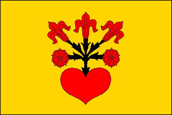 Uhelná - vlajka