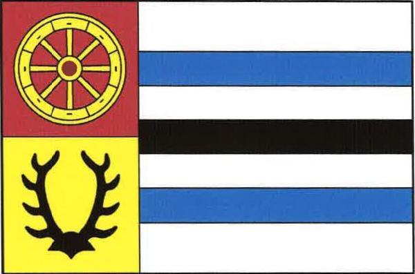 Úherce - vlajka