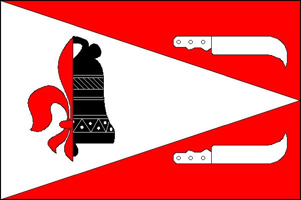 Uhlířov - vlajka