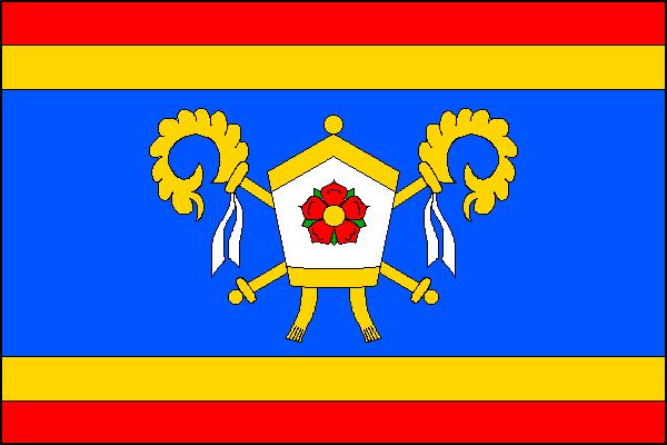 Újezd - vlajka