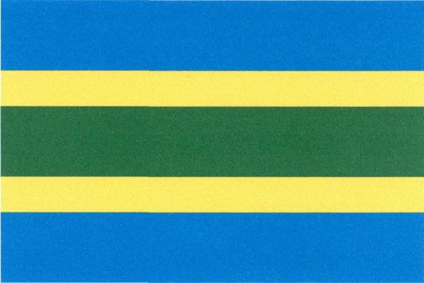 Unhošť - vlajka