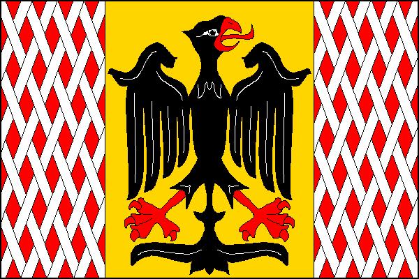 Uničov - vlajka