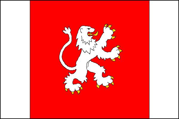 Úsov - vlajka