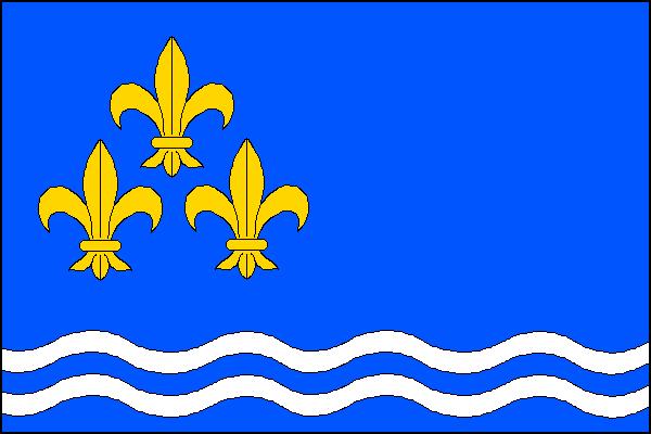 Ústí - vlajka