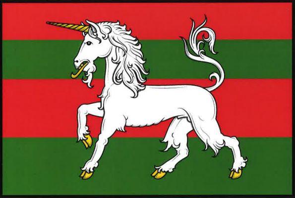 Vamberk - vlajka