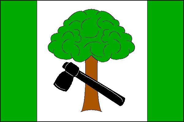 Vápenná - vlajka