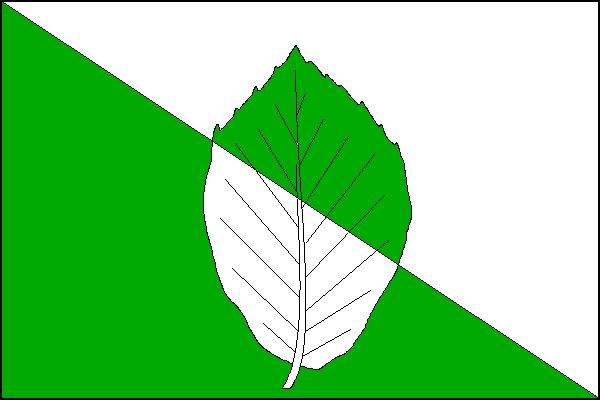 Velká Buková - vlajka