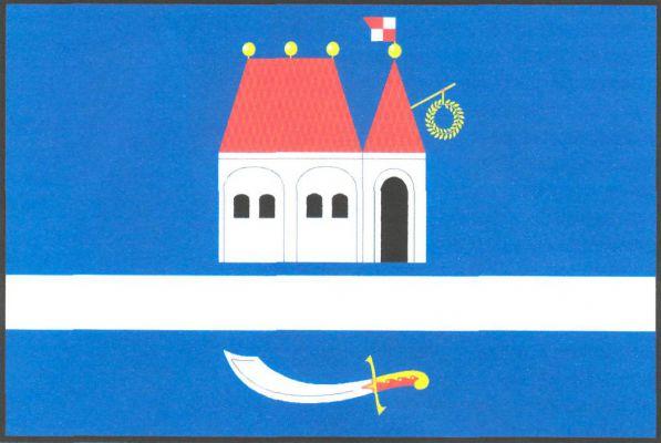 Velká nad Veličkou - vlajka