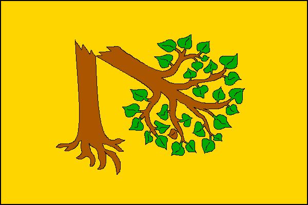 Velká Polom - vlajka