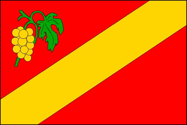Velké Bílovice - vlajka