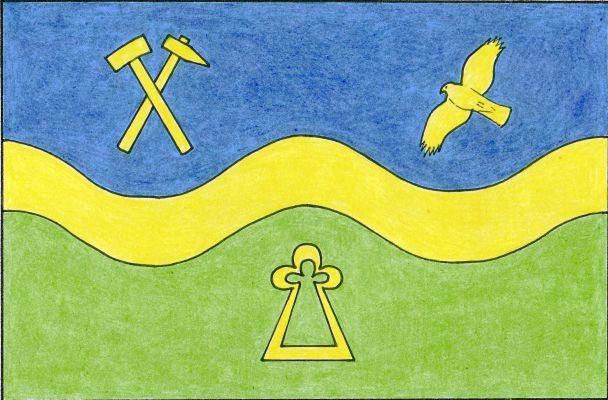 Velké Svatoňovice - vlajka