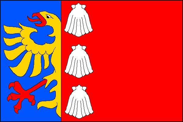 Vendryně - vlajka