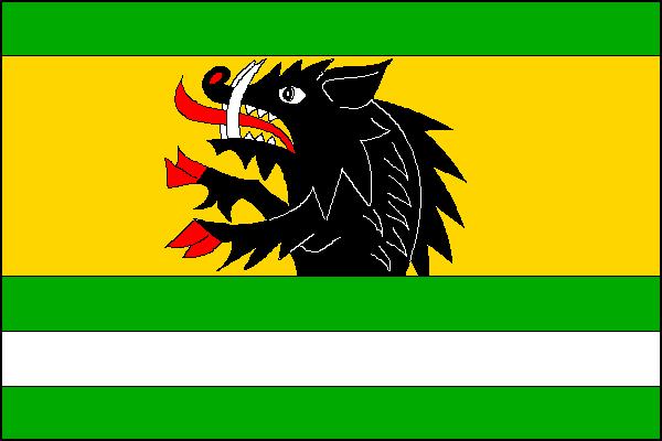 Vepřová - vlajka