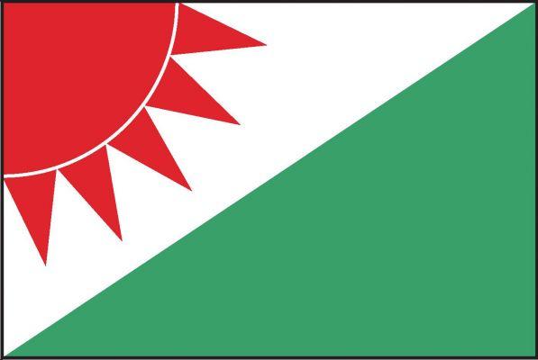 Veselá - vlajka