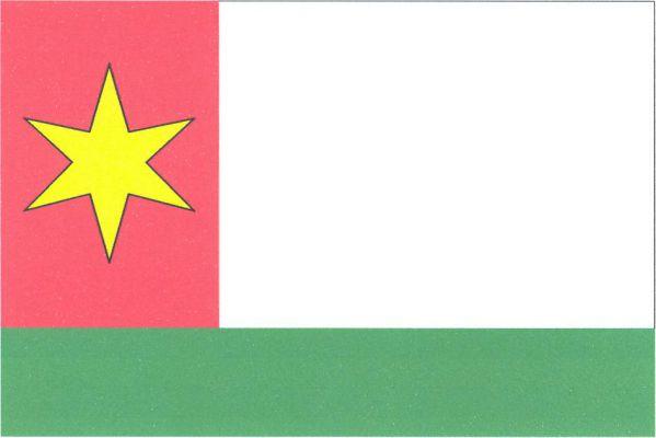 Veselé - vlajka