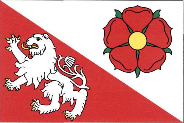 Veselí nad Lužnicí - vlajka