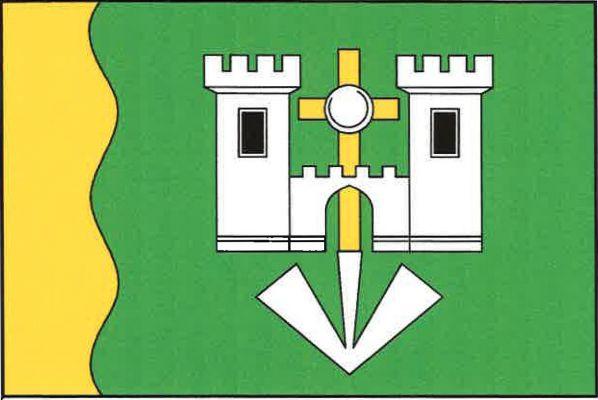 Vitějovice - vlajka