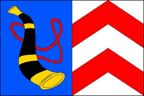 Vítkov - vlajka