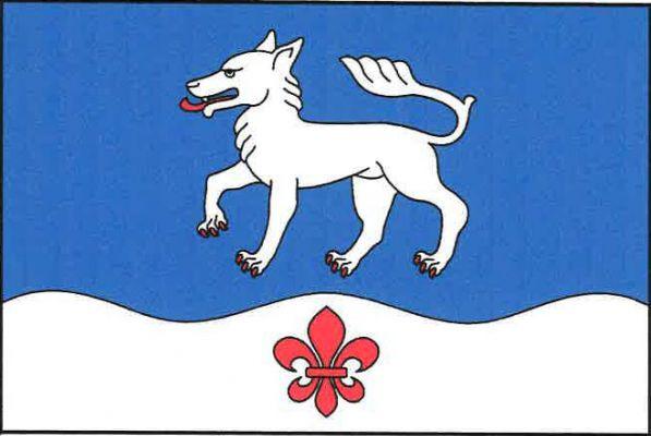 Vlčeves - vlajka