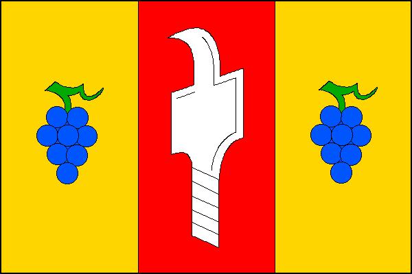 Vlčnov - vlajka