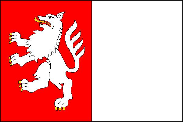 Vlkoš - vlajka