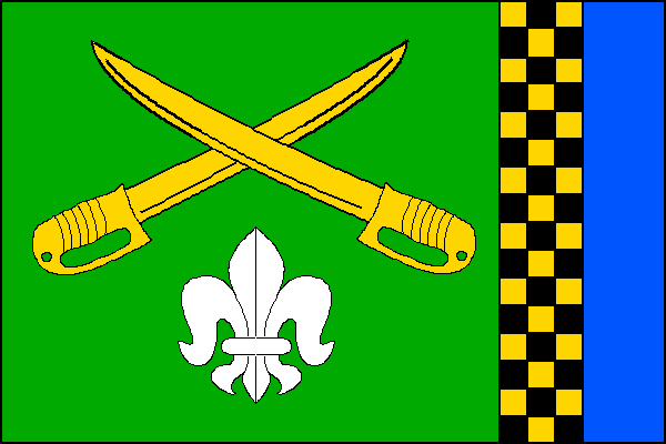 Vojkovice - vlajka