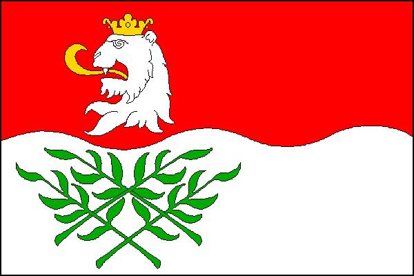 Vrdy - vlajka