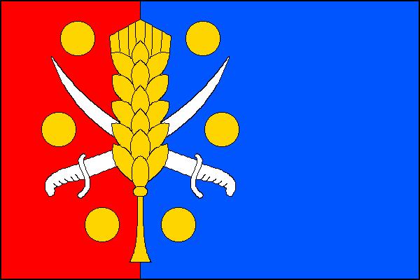Všestary - vlajka