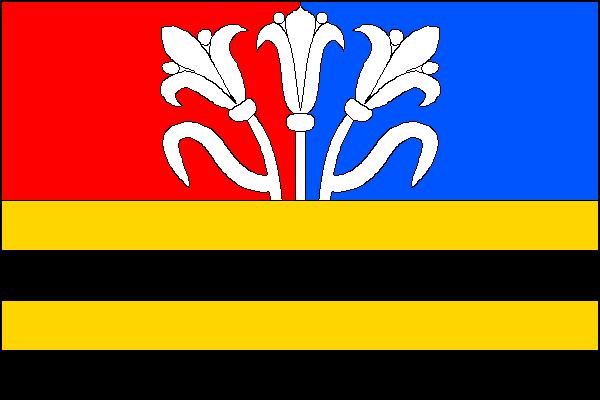 Výkleky - vlajka